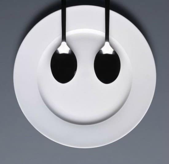 Artwork From Kitchen Dishes