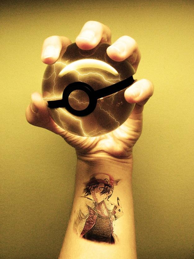 Geek Pokeball Mystical Designs