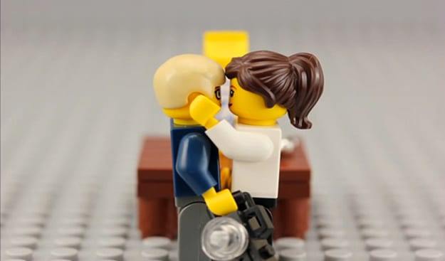 Marriage Propose In Lego Video