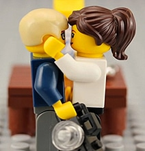 A Romantic Marriage Proposal In Lego Stop Motion