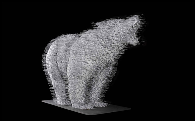 Coathangers: Razor Sharp Realistic Coat Hanger Sculptures