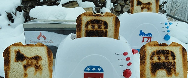 Obama Toast Design: Eat The President For Breakfast