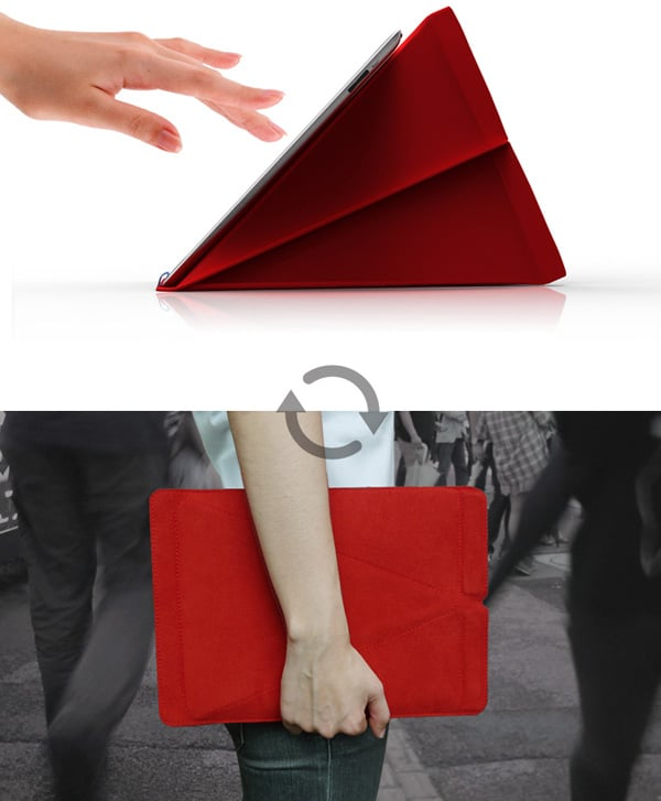 Smart Stand iPad Sleve Design