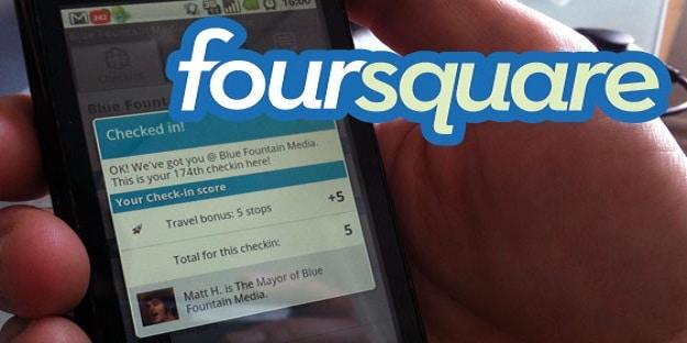 Foursquare Social Media Service