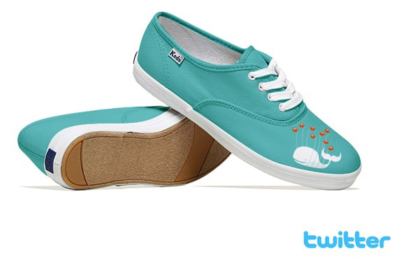 Twitter Keds Sneakers Design