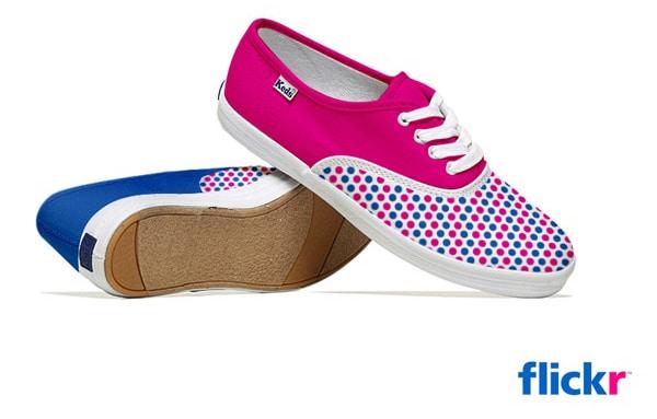 Flickr Creative Sneakers Design