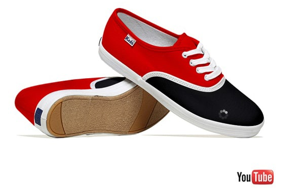 YouTube Creative Sneakers Design