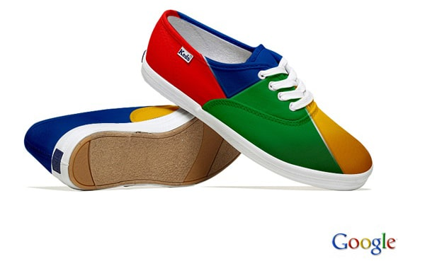 Google Plus Creative Sneakers Design