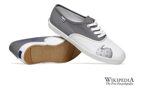 Wikipedia Creative Sneakers Design