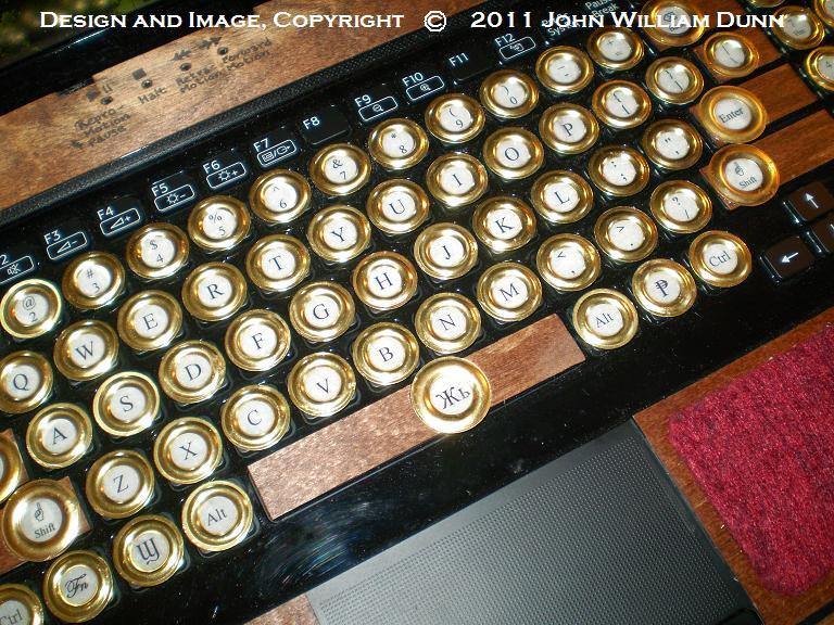 Sony Vaio Steampunk Mod Kit