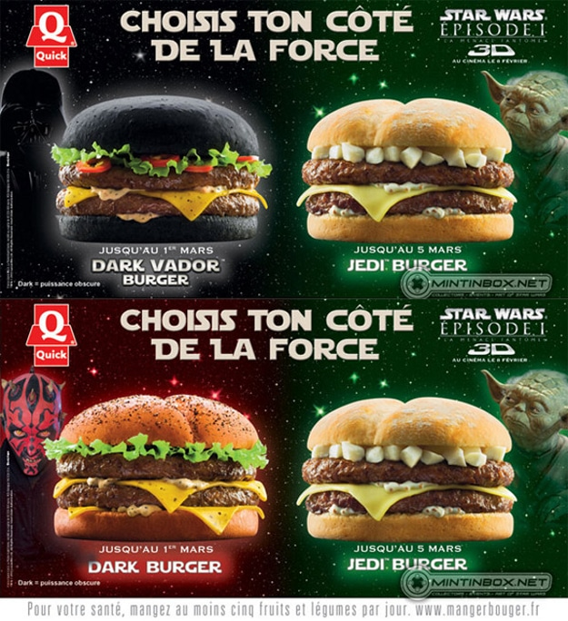 Darth Vader Burgers In Europe