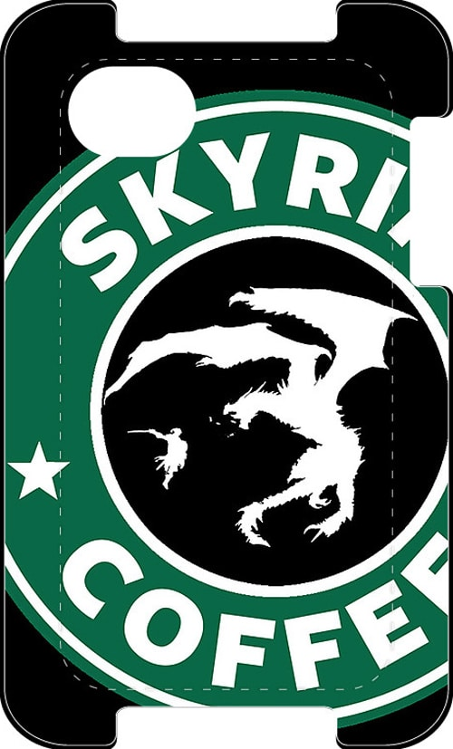 Skyrim Starbucks Strange Mashup