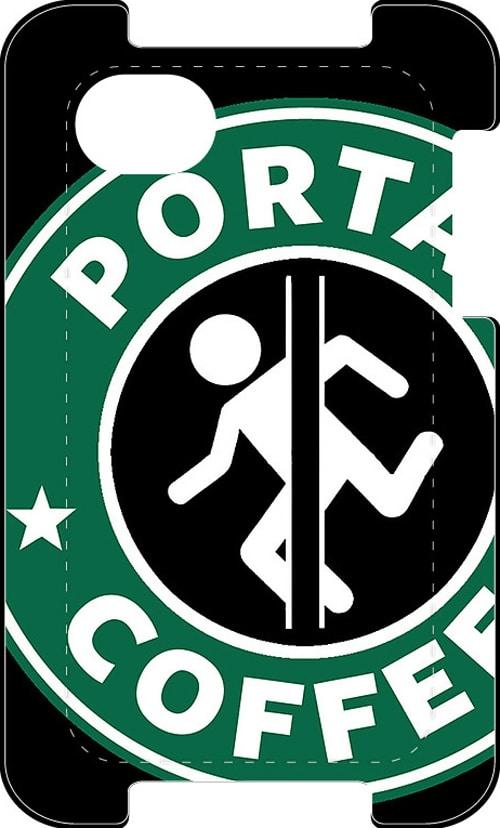 Portal Game Starbucks Mashup