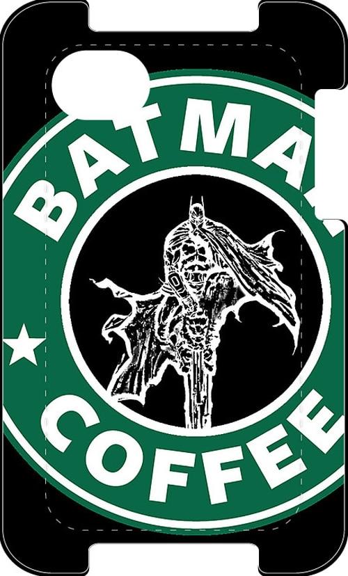 Batman Starbucks Strange Mashup