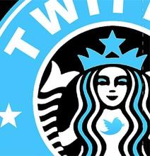 Starbucks Logo Goes Geek
