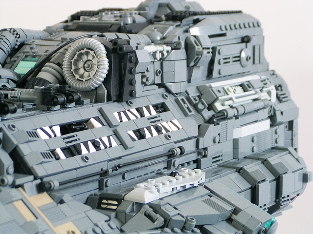 Starcraft Lego Hyperion Battlecruiser Build