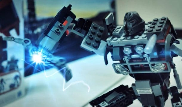 Stop Motion Lego Transformers Movie