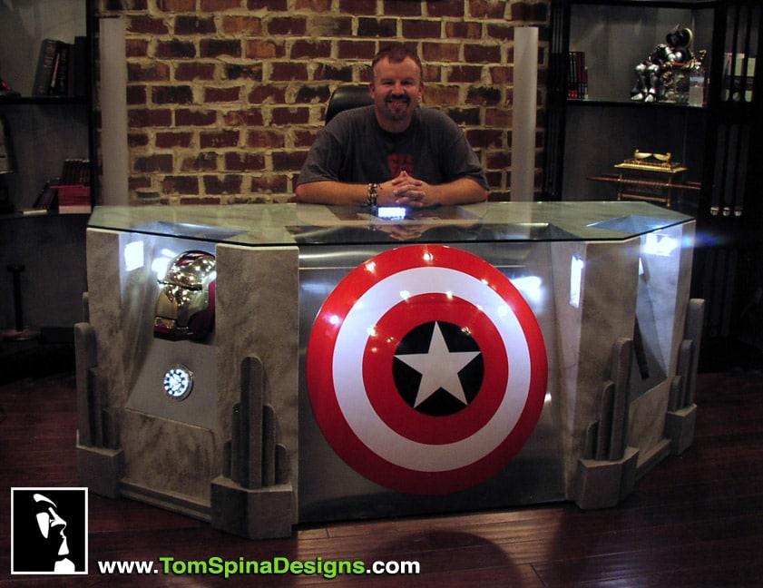 The Avengers Movie Themed Desk