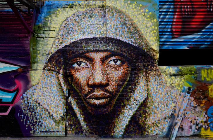 The Graffiti Pointillism Artwork Approach