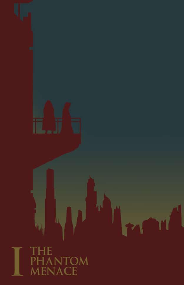 Episode I Star Wars Poster