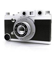 Gizmon iCA Case: Turn Your iPhone Into A Vintage Camera