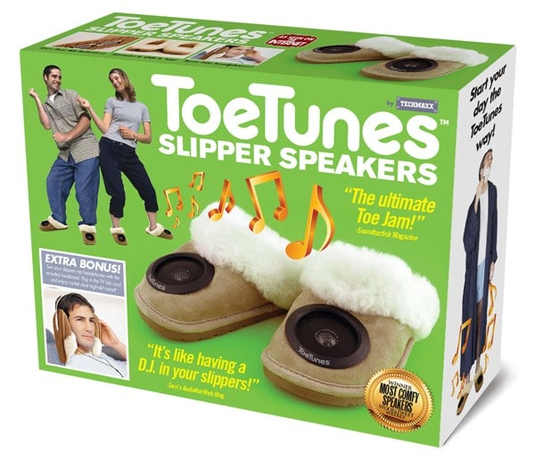 ToeTunes Gift Box Comedy Packaging