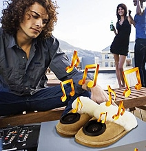 ToeTunes: These Slippers With Speakers Challenge The iPod