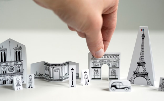 Diy City Of Paris Papercraft That Fits In Your Pocket Bit Rebels