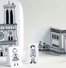 DIY City Of Paris Papercraft That Fits In Your Pocket