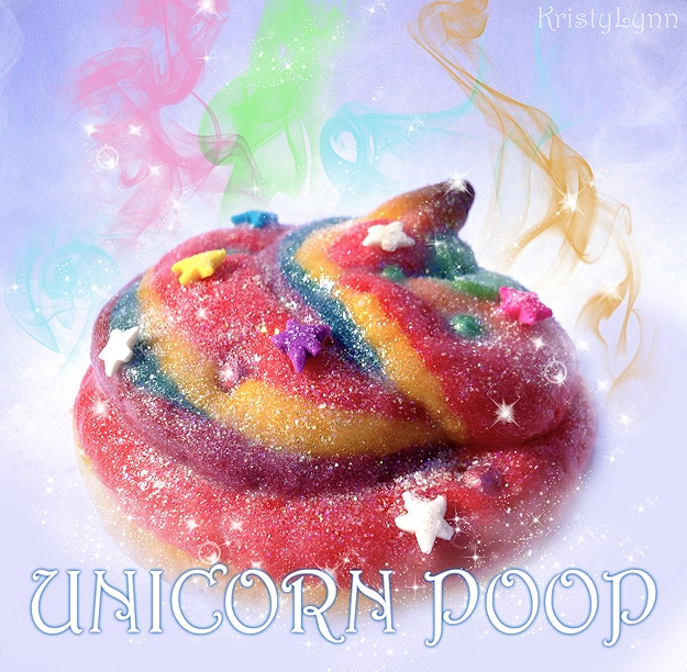 Fantasy Unicorn Rainbow Cookies