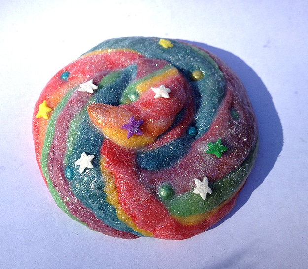 Fantasy Rainbow Unicorn Cookie