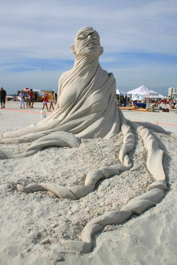 Unimaginable Surreal Sand Sculpture Concepts