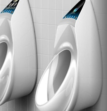 The Urinal Design That Gives You A Health Score On A Touchscreen