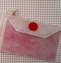 How To: Make Envelopes From Used Dryer Sheets