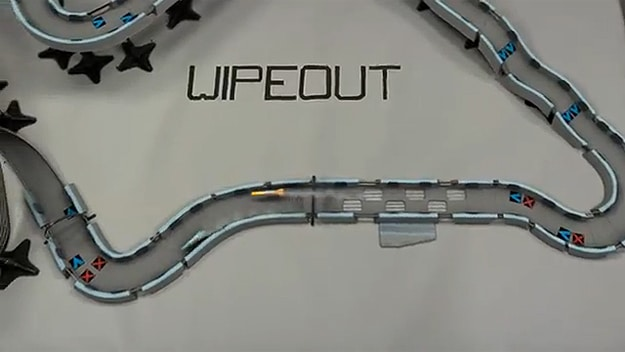 Wipeout: Awesome Demo Of Real Life Quantum Levitation Racing