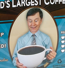 The World's Largest Coffee Cup (That You Can Actually Hold)