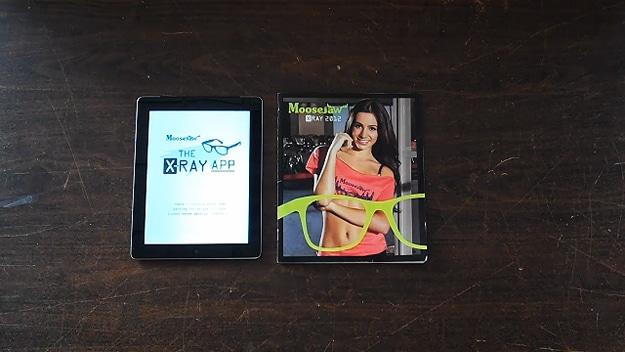 X-Ray App For Moosejaw Catalogue