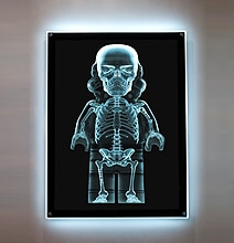 Behold The $5,800 Back Lit Lego Stormtrooper X-Ray Picture