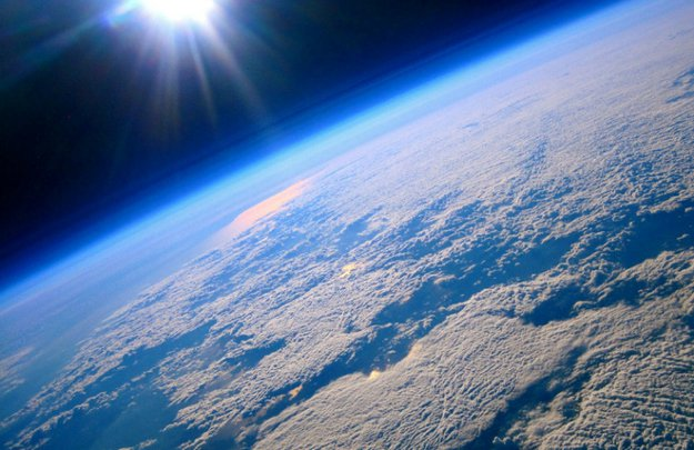space atmosphere ozone layer