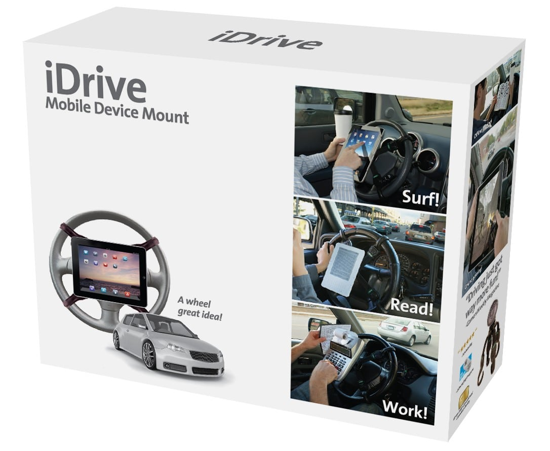 iDrive: The Ultimate On The Road iPad Accessory