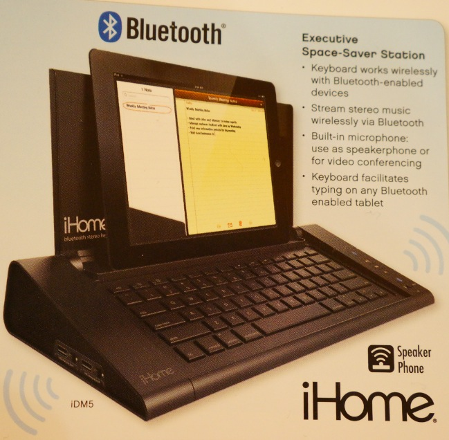 iHome Retro Desktop Computer Dock