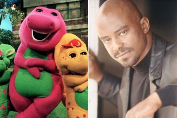 Actor Inside Barney Costume