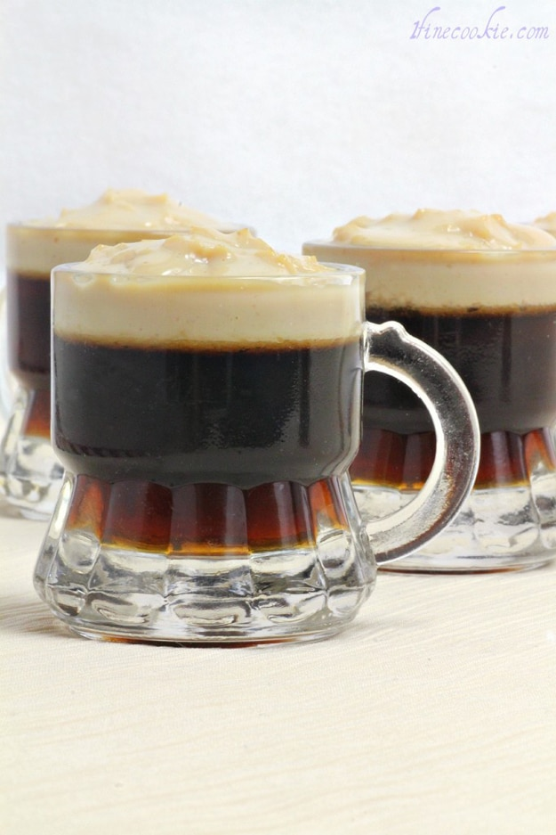 Beer Jello Shots (Complete With Tiny Foam Heads)