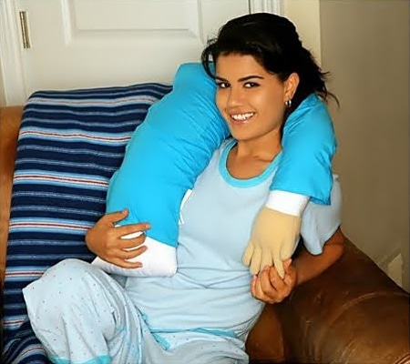 Fake Boyfriend Hug Pillow