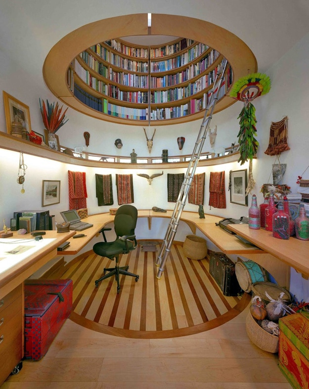 Built-In-Library-Office