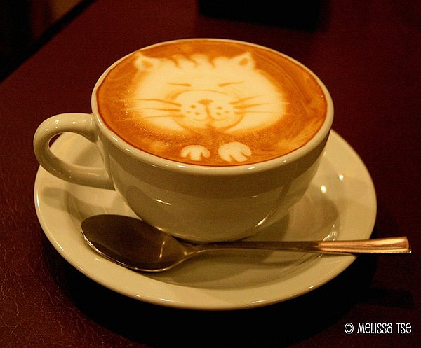 Caturday Inspiration: Creative Cat Coffee Art [12 Pics]