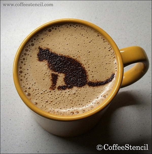 Latte Kitty Coffee Designs