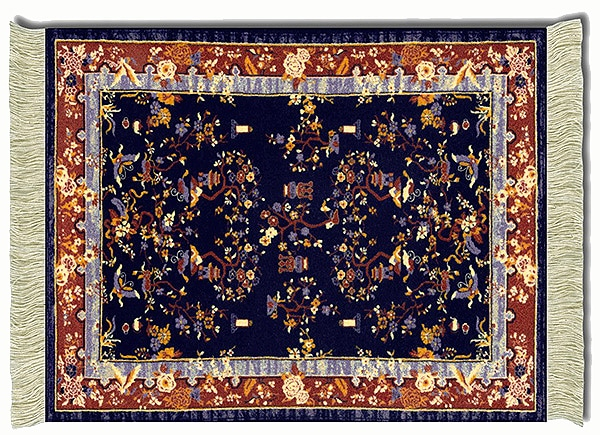 Oriental Rug For Mouse