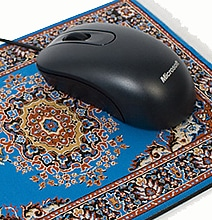 Mouserugs: Fancy Mouse Carpets To Replace Boring Mouse Pads