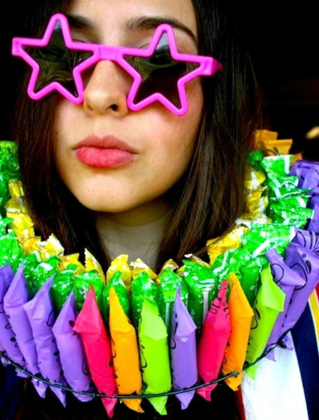 The Tampon Wreath: Celebrate Being A Woman All Month Long